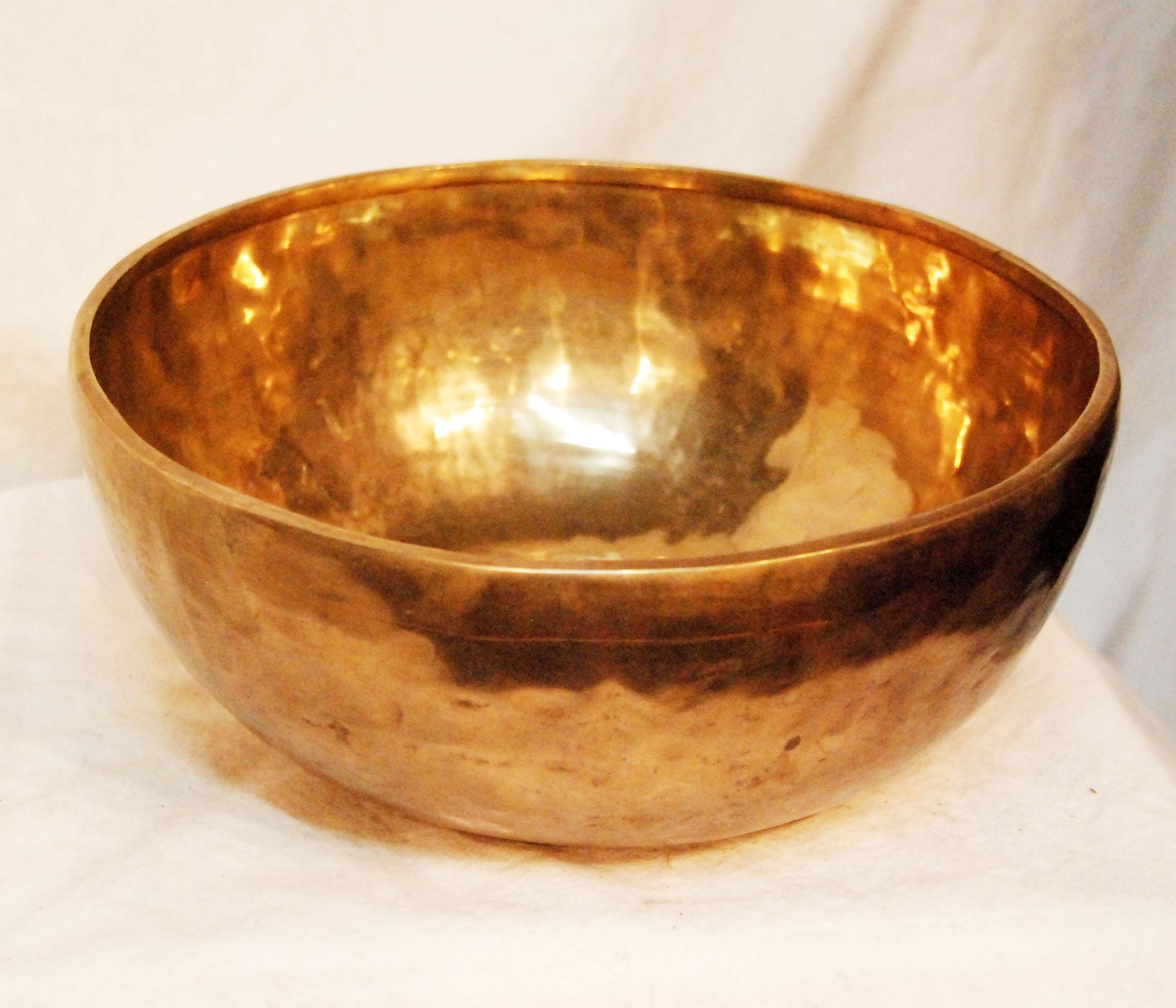 """Huge Healing C Root Chakra Tibetan Singing Bowl 10"""" Retail ..."""